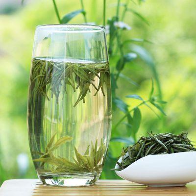 茶博士霍山黄芽新茶特级雨前黄茶手工焖黄礼盒1